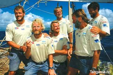 14.4 Tangaroa - Pacific Voyage - Testing Heyerdahl's Theories ...